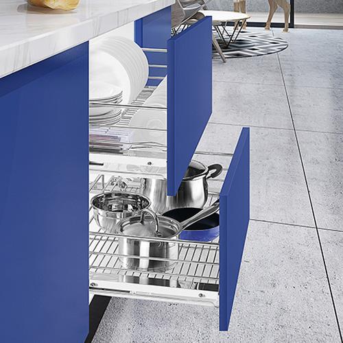 厨房橱柜拉篮
